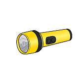 istock Cartoon flashlight pictures for kids which is a vector illustration for preschool and home training for parents and teachers. 1322707382