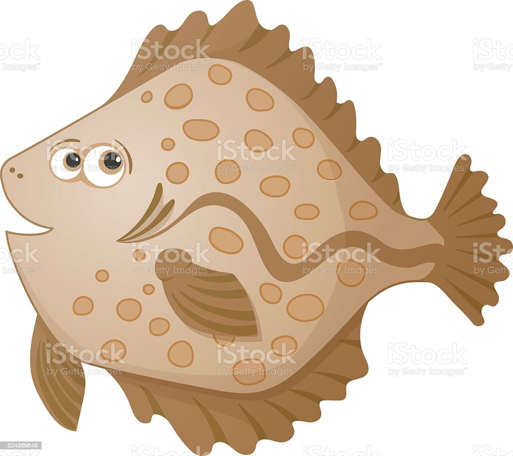 royalty free turbot clip art vector images illustrations istock rh istockphoto com Clip Art Soccer Cleat Soles Track Shoe with Wings Clip Art