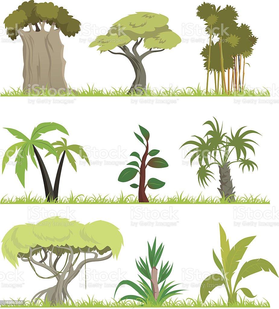 Cartoon forest (Jungle)