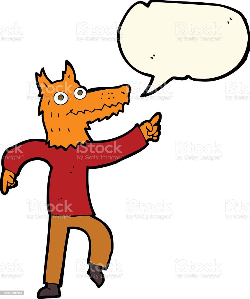 cartoon fox man with speech bubble royalty-free cartoon fox man with speech bubble stock vector art & more images of adult