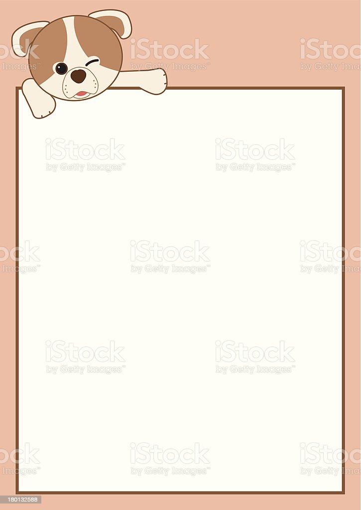 Cartoon Frame Border royalty-free stock vector art