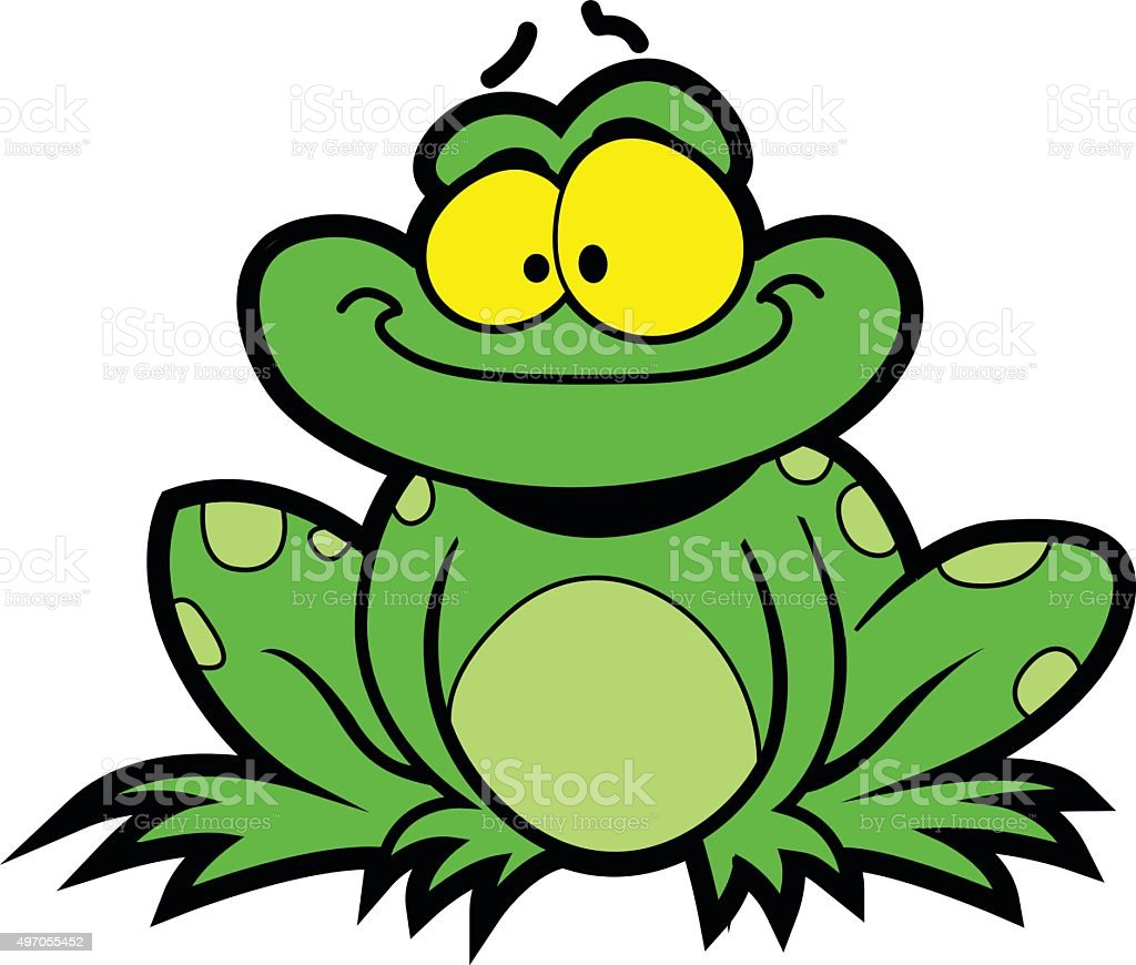 cartoon frog stock vector art more images of 2015 497055452 istock rh istockphoto com