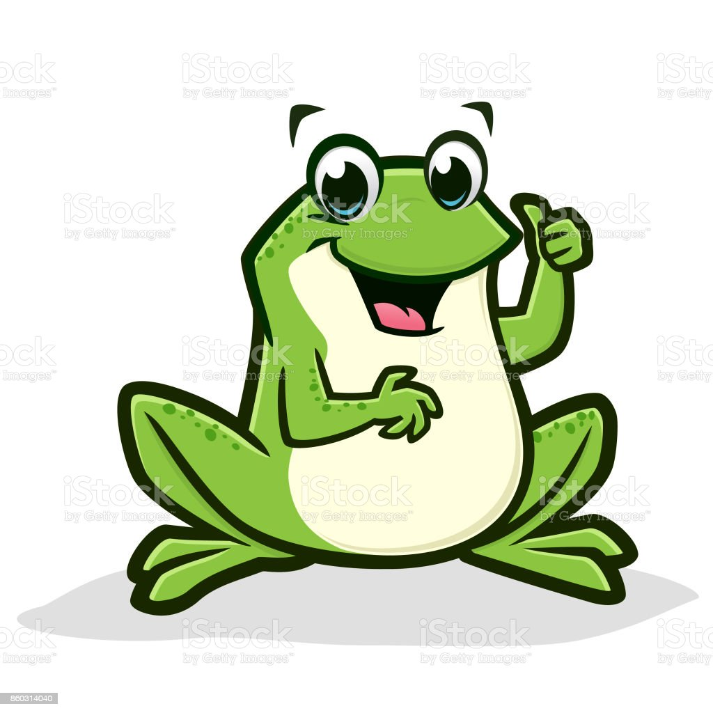 Royalty Free Frog Clip Art Vector Images Illustrations iStock