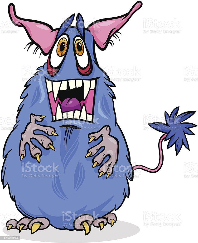 cartoon funny monster illustration royalty-free cartoon funny monster illustration stock vector art & more images of alien
