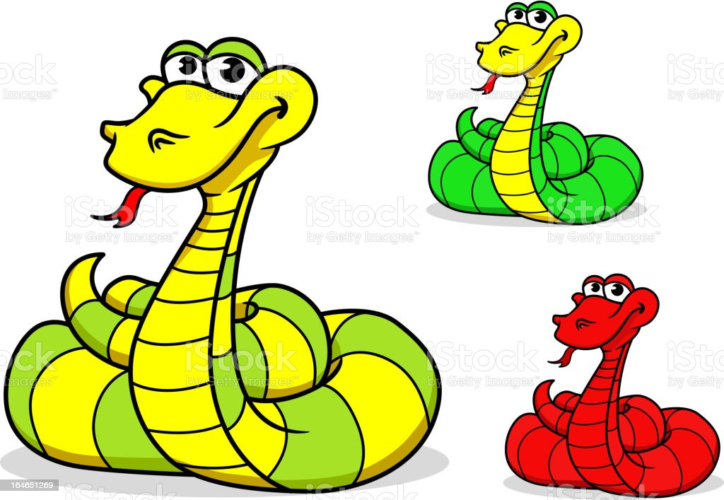 Cartoon funny snake royalty-free cartoon funny snake stock vector art & more images of animal