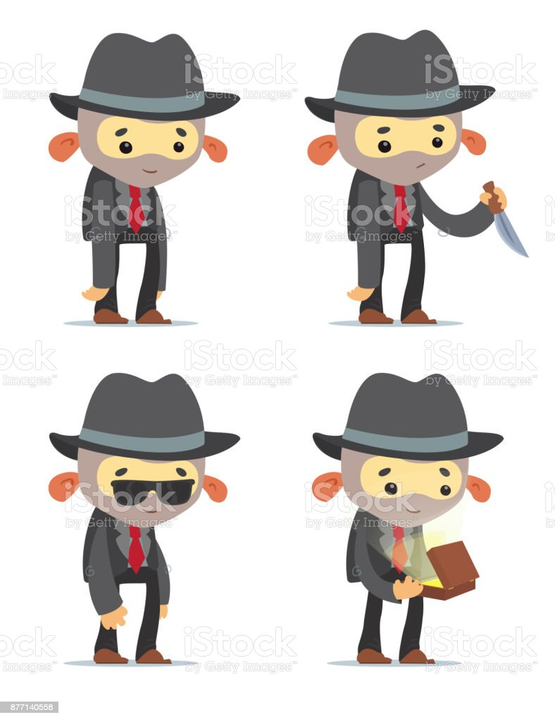 Cartoon Gangster Stock Illustration Download Image Now Istock