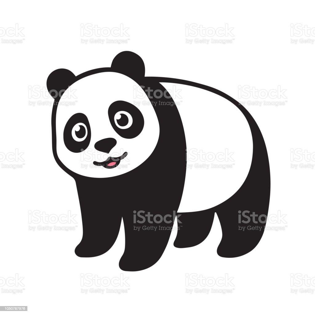 Ilustración De Dibujos Animados De Oso Panda Gigante Y Más Vectores