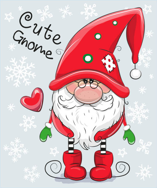 Gnome Clip Art: Top 60 Christmas Gnome Clip Art, Vector Graphics And