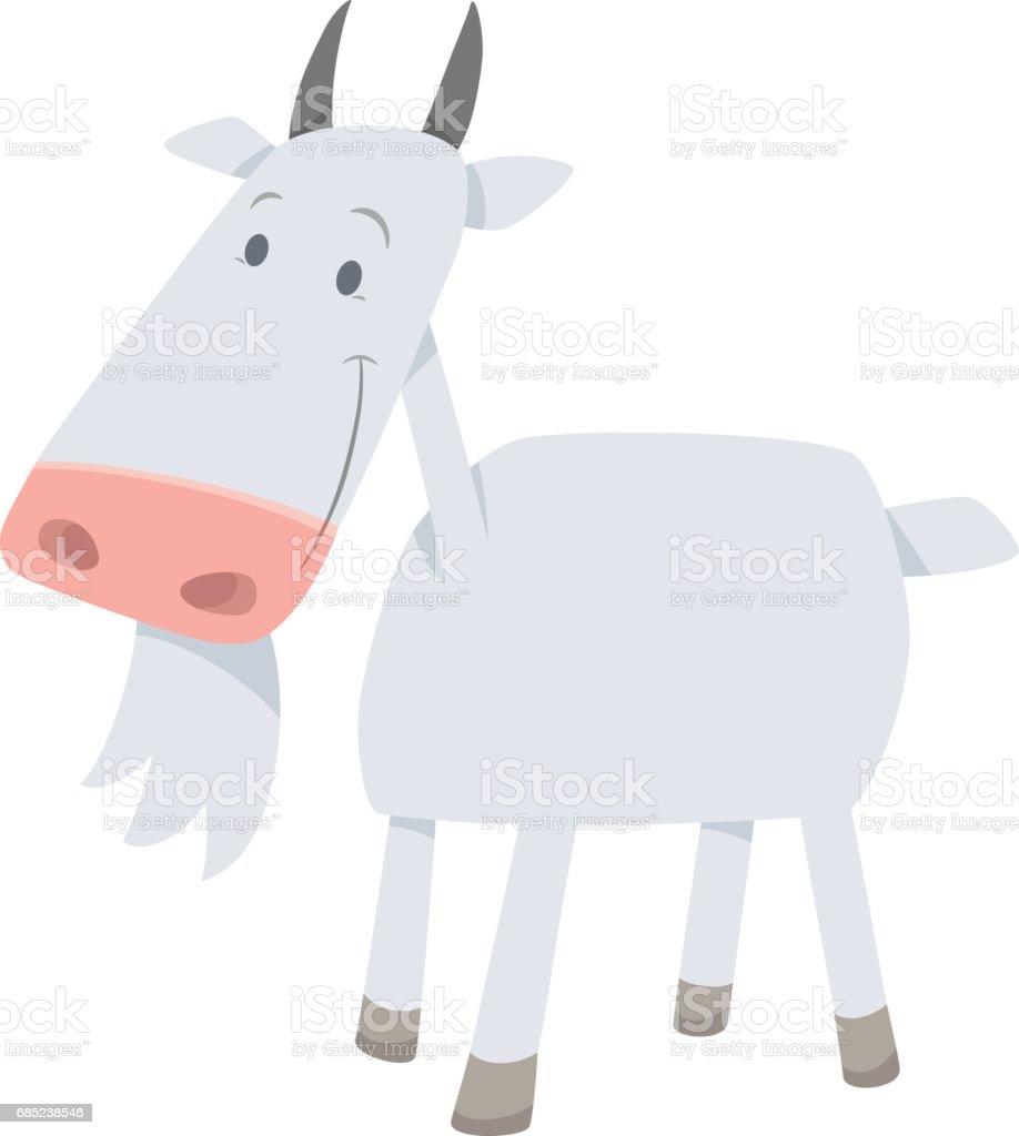 cartoon goat farm animal royalty-free cartoon goat farm animal stock vector art & more images of agriculture