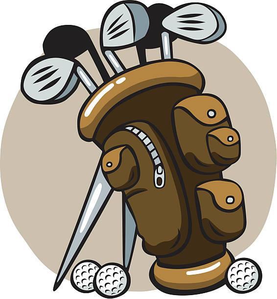 Best Golf Bag Illustrations, Royalty-Free Vector Graphics ...