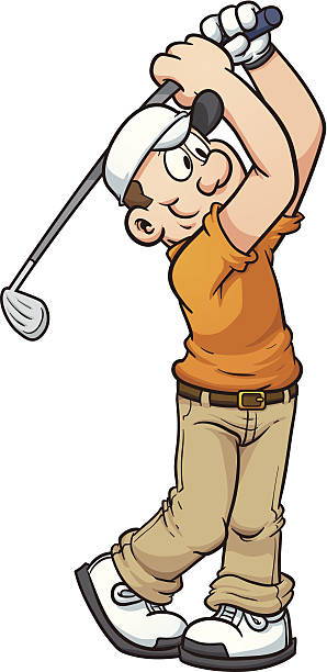 1 083 Cartoon Golfer Illustrations Royalty Free Vector Graphics Clip Art Istock