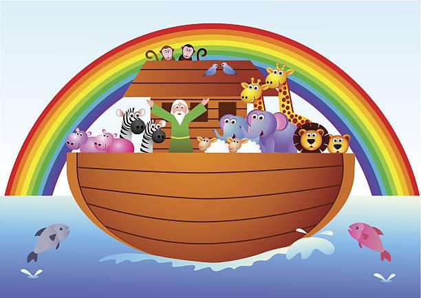 Best Noah Ark Illustrations, Royalty Free Vector Graphics ...
