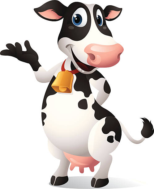 cartoon graphics of cow - cow stock illustrations, clip art, cartoons, & icons