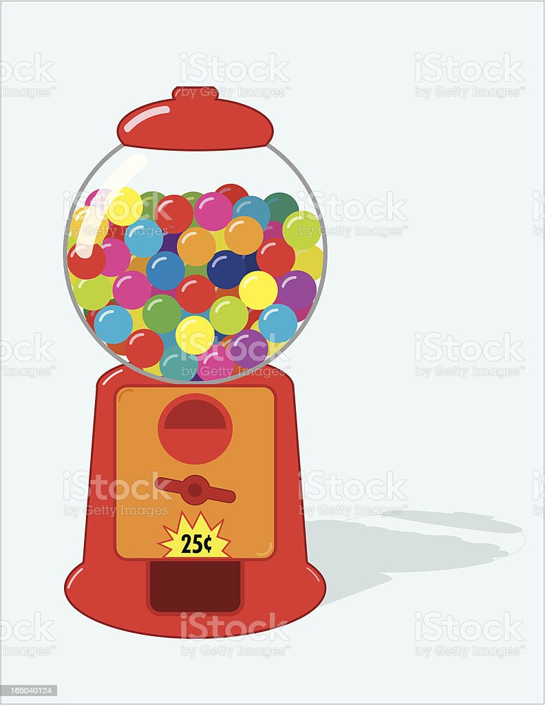Cartoon gum ball coin operated machine royalty-free cartoon gum ball coin operated machine stock vector art & more images of antique