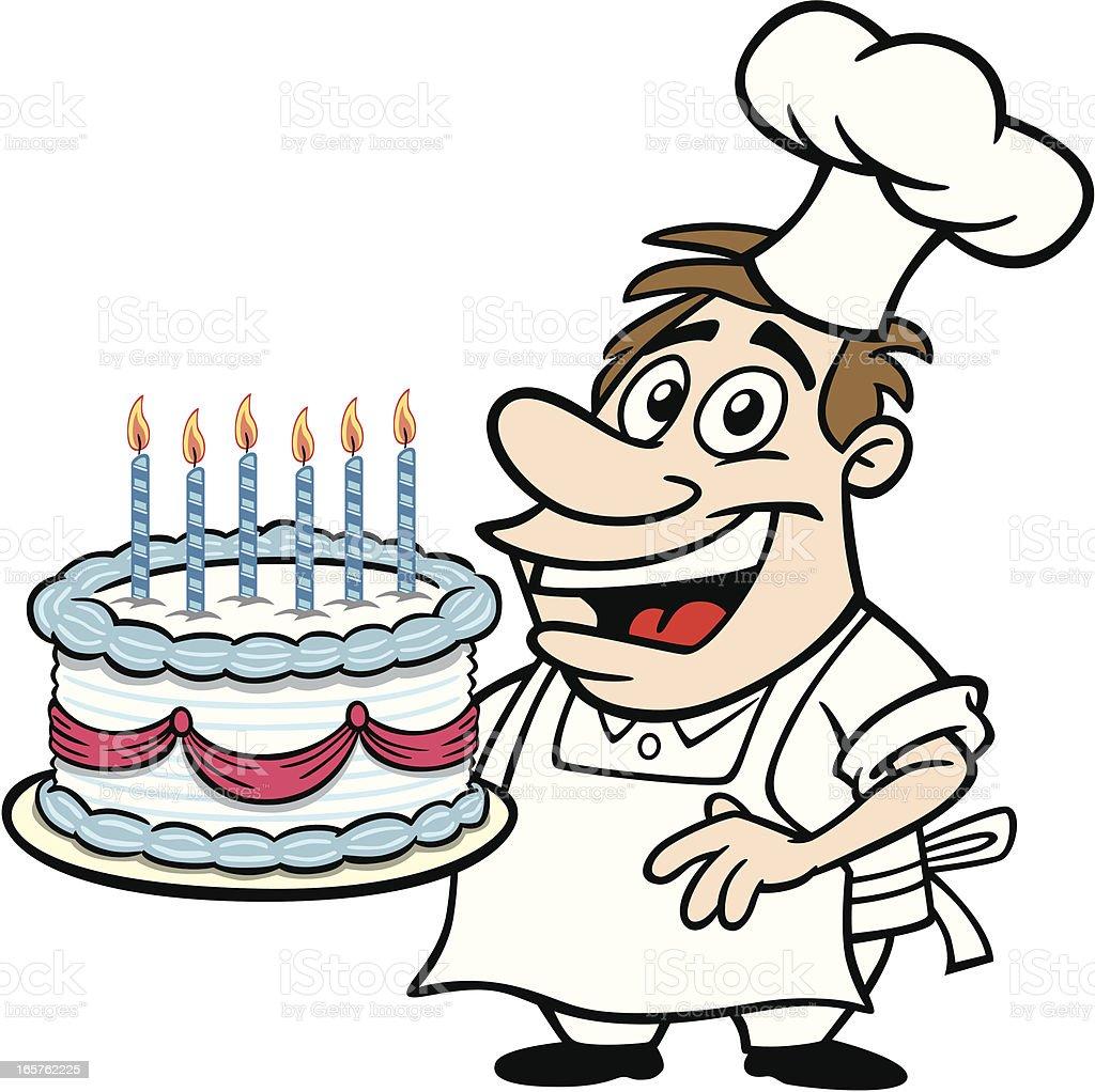 Cake Baking Clipart