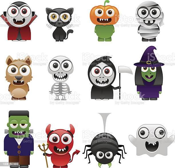 Cartoon halloween characters set vector id153080369?b=1&k=6&m=153080369&s=612x612&h=r4rpmkq9fuf9yfcgw9fozniai4rejzfkrjklt00gfeg=