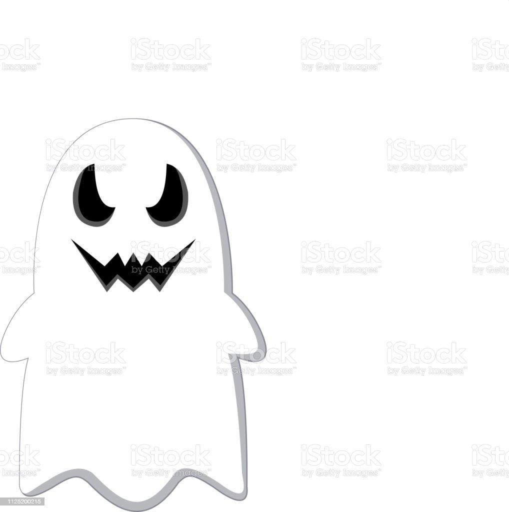 Vetores De Desenho Animado Fantasma De Halloween E Mais Imagens De