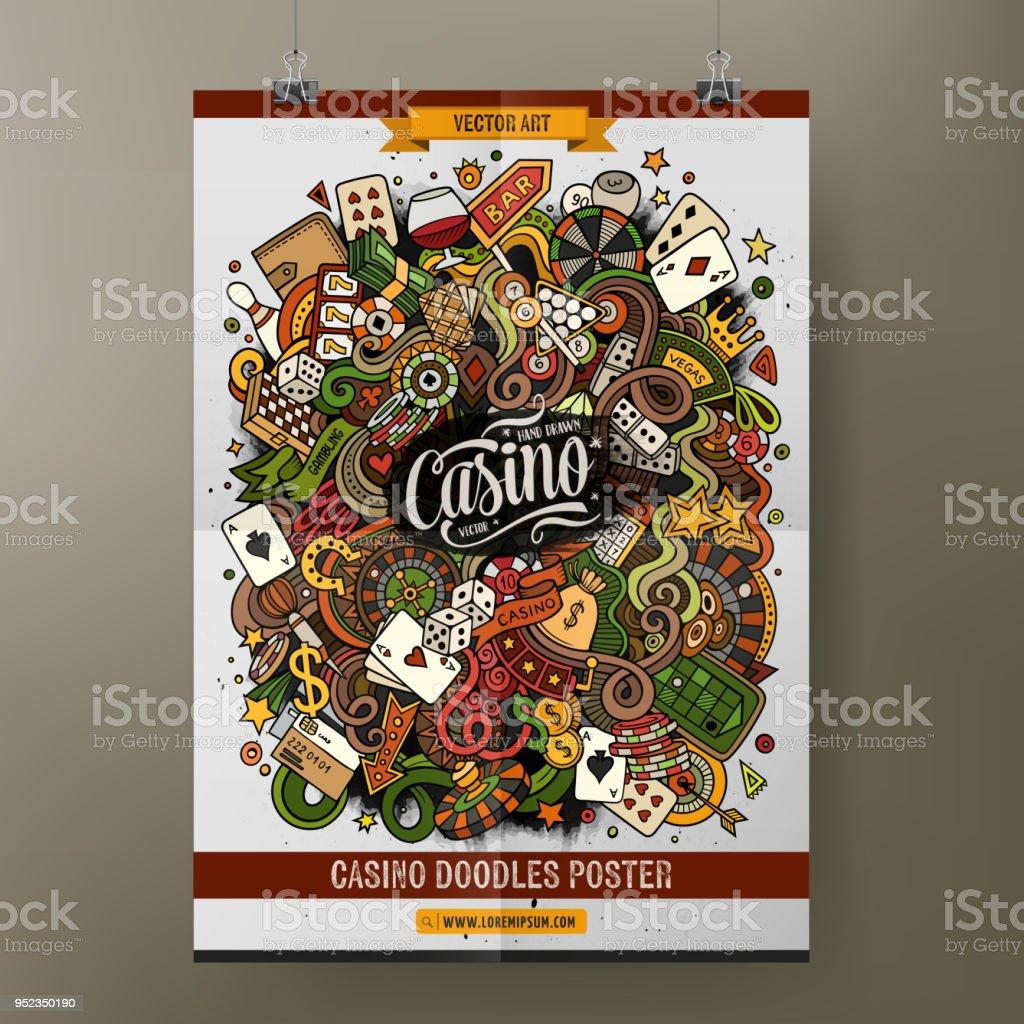 Affiche Blackjack Carte De Pique Visite Cartes Jouer