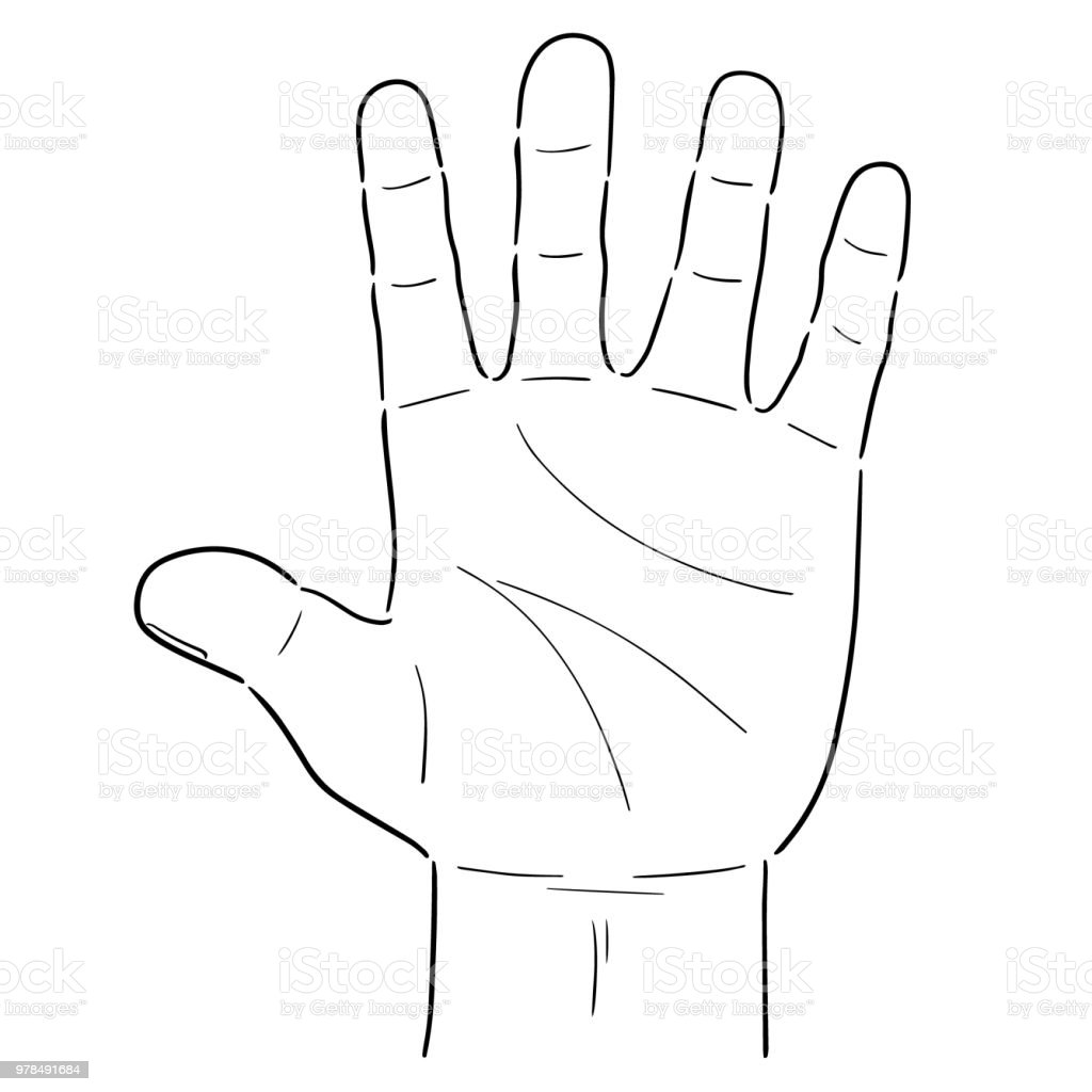 Comic Hand Stock Vektor Art und mehr Bilder von Anatomie 978491684 ...