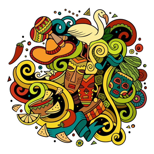 Vectores De Indigenas Colombianos E Ilustraciones Libres De Derechos