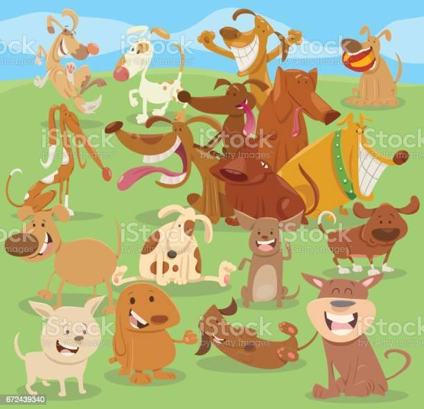 Cartoon happy dogs group vector id672439340?b=1&k=6&m=672439340&s=612x612&h= mmiz9w 0enroon1sartehd4aypqjb3qe26c44h4ask=
