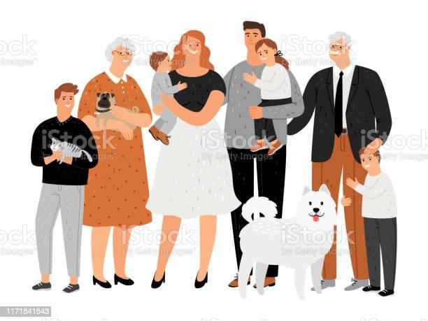 Cartoon happy family portrait vector id1171541543?b=1&k=6&m=1171541543&s=612x612&h=p37ydnpiseva5tm8zrjpeyhn6nrg0ll2bvgdgzb6wqe=