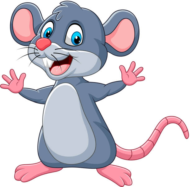 Top 60 Silhouette Of The How To Draw A Cute Mouse Clip Art ...