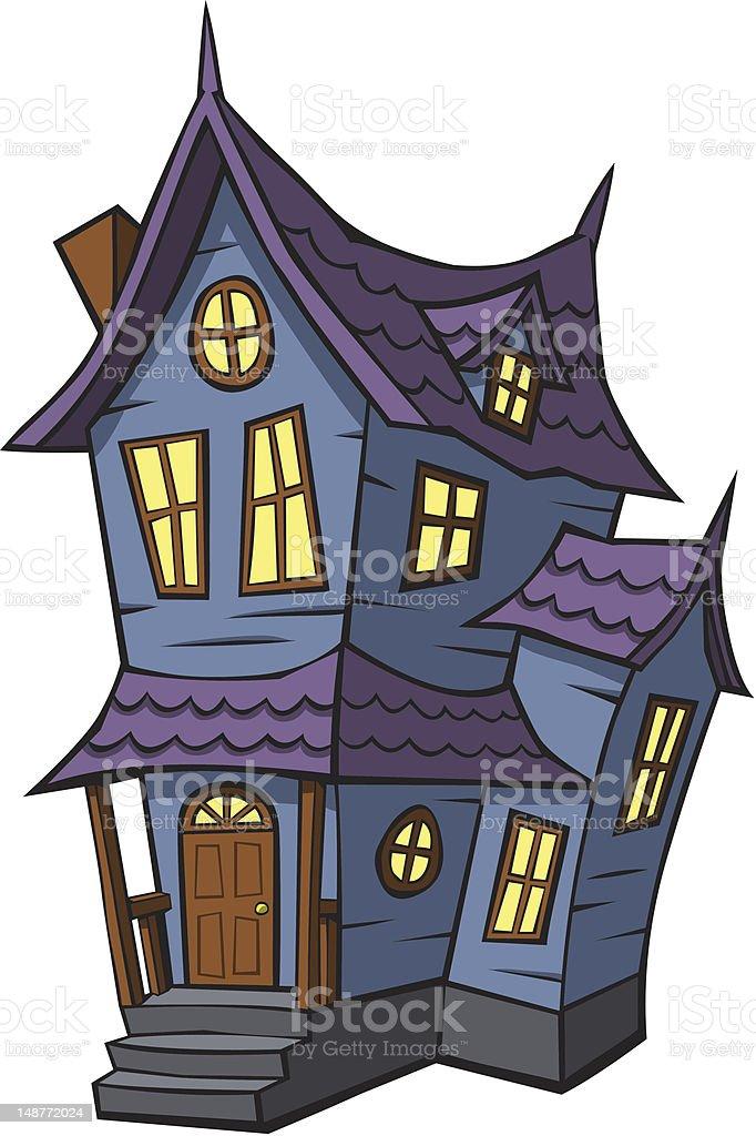 Cartoon haunted house stock illustration download image - Cartoon haunted house pics ...