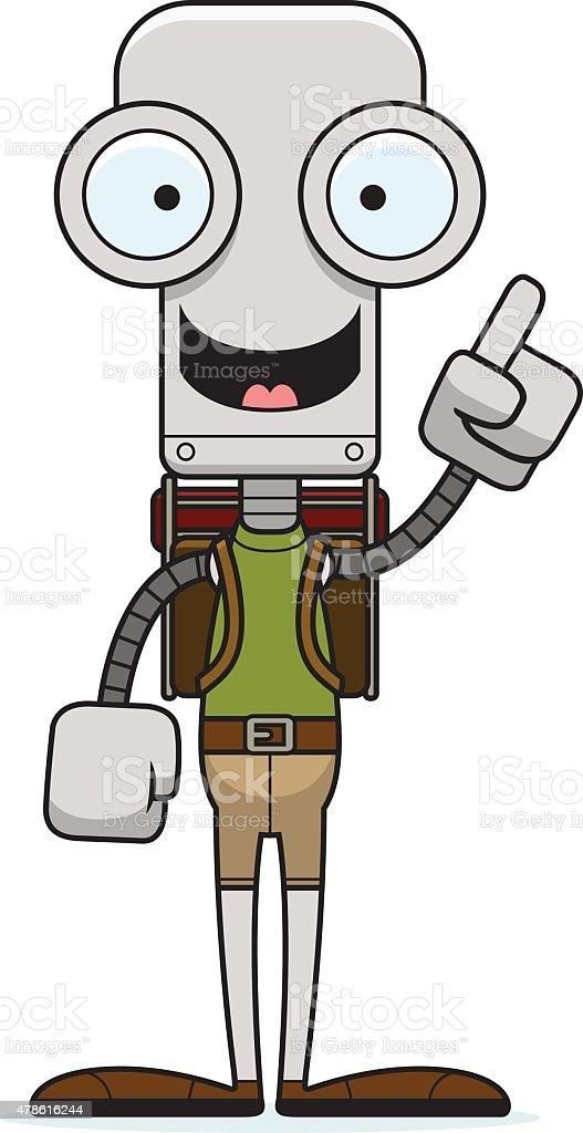Roboter Comic