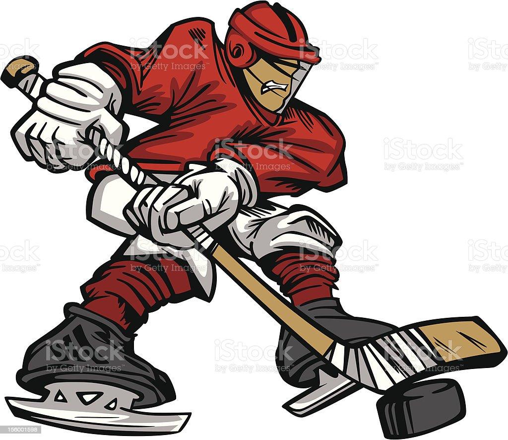 Dessin vecteur de joueur de hockey sur la patinoire vecteurs libres de droits et plus d 39 images - Dessin patinoire ...