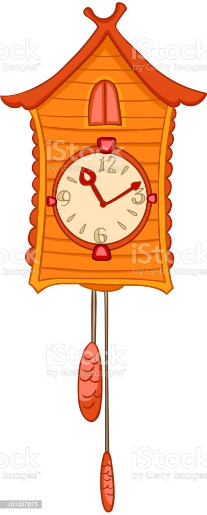 Cartoon Home Clock royalty-free cartoon home clock stock vector art & more images of circle