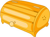 Cartoon Home Kitchen Bread Bin