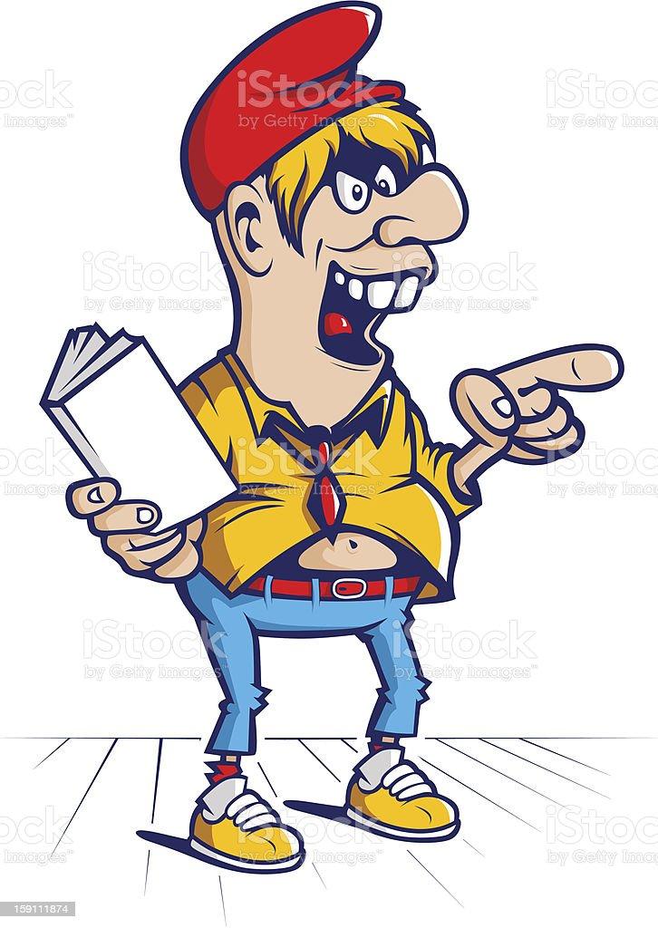 cartoon hooligan student mascot royalty-free cartoon hooligan student mascot stock vector art & more images of adult