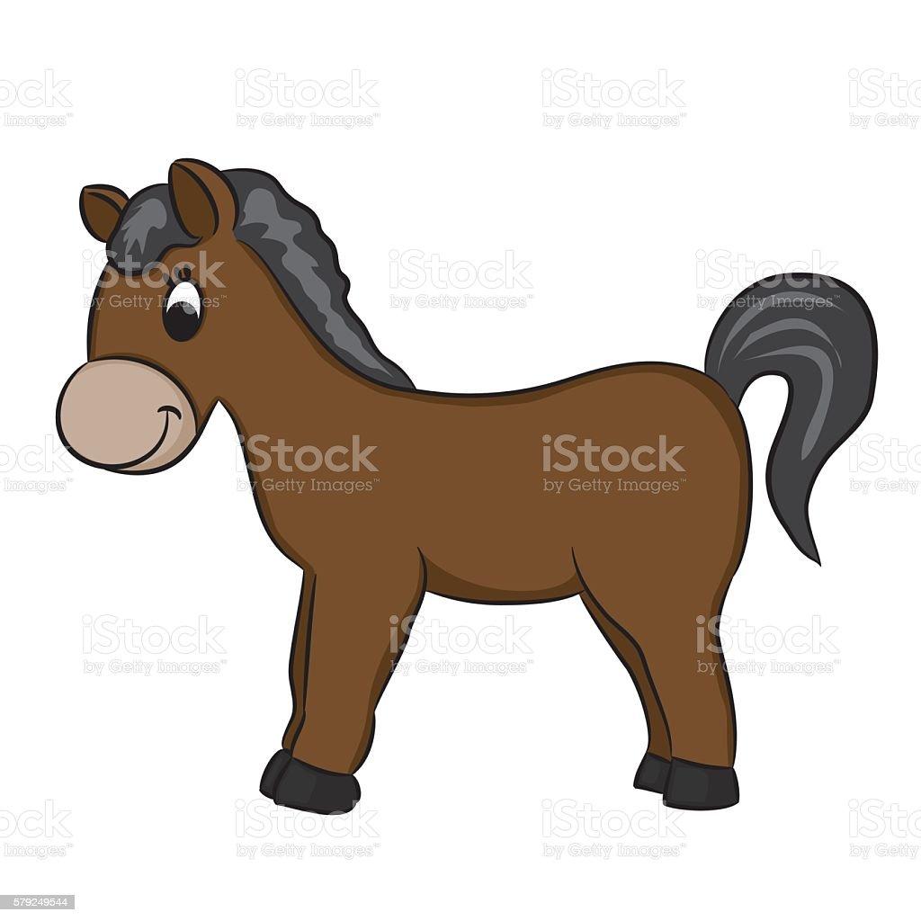 Pferd Comic