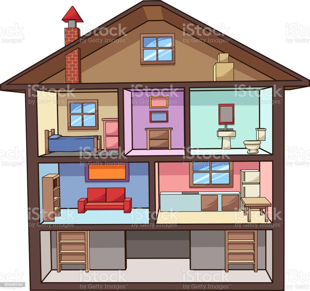 cartoon-house-interior-vector-id925382294 House Interior Design Clip Art on house floor plan clip art, inside house clip art, house blueprint clip art,