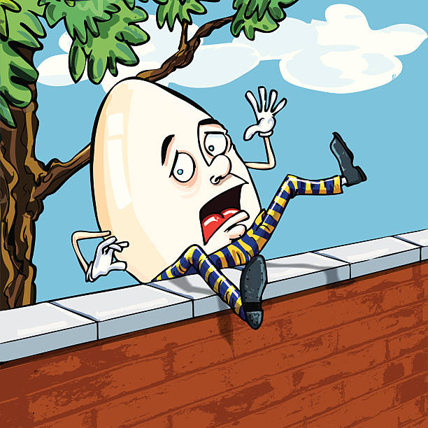 Digging The Off Red Vintage Color And The Lil White: Royalty Free Humpty Dumpty Clip Art, Vector Images