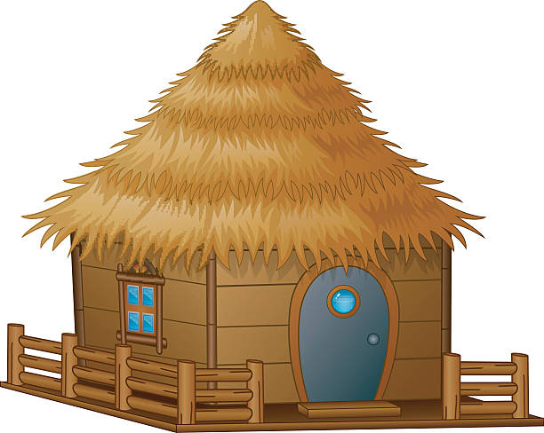 Straw Roof Illustrations, Royalty-Free Vector Graphics ...