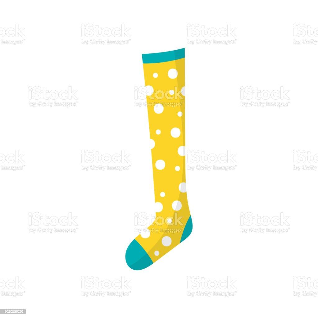 4efc87682a4d83 Cartoon Ikone Der Kleinen Kinder S Baumwolle Socke In Polkadots ...