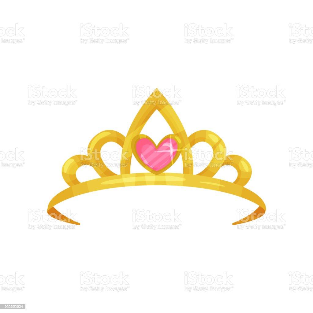 Ic ne de dessin anim de la couronne de princesse - Dessin couronne princesse ...