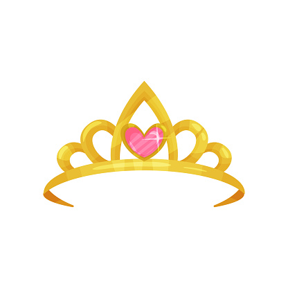 Icône De Dessin Animé De La Couronne De Princesse ...