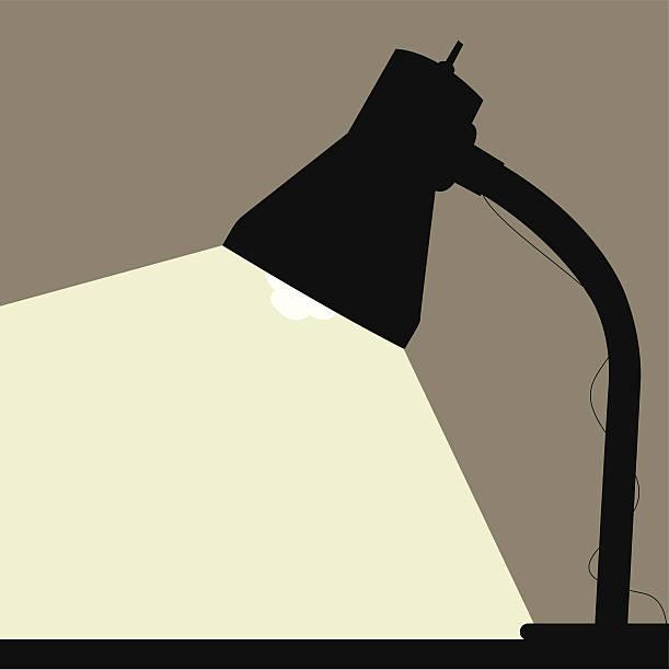 Royalty Free Desk Lamp Clip Art, Vector Images