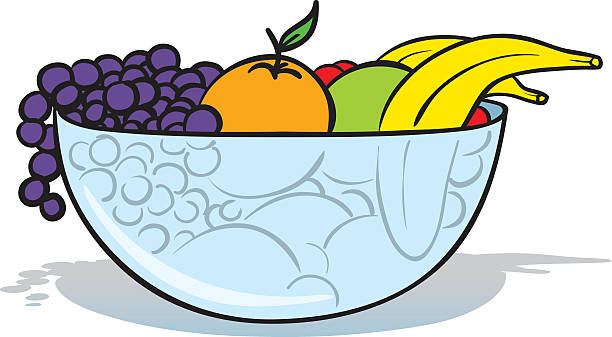Best Fruit Bowl Illustrations, Royalty-Free Vector ...  Cute