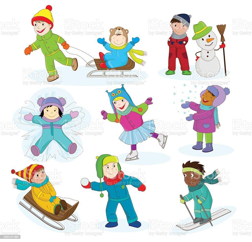 Красивые рисунки зимы