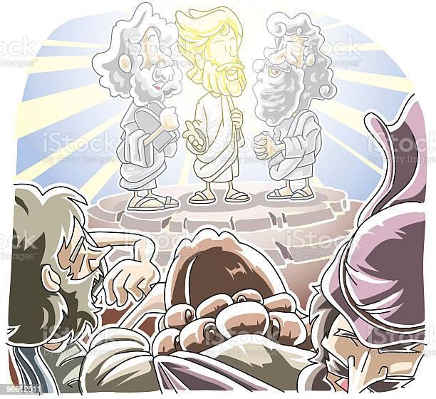 Trasposizione Di Gesù - Immagini vettoriali stock e altre immagini di Nuovo Testamento