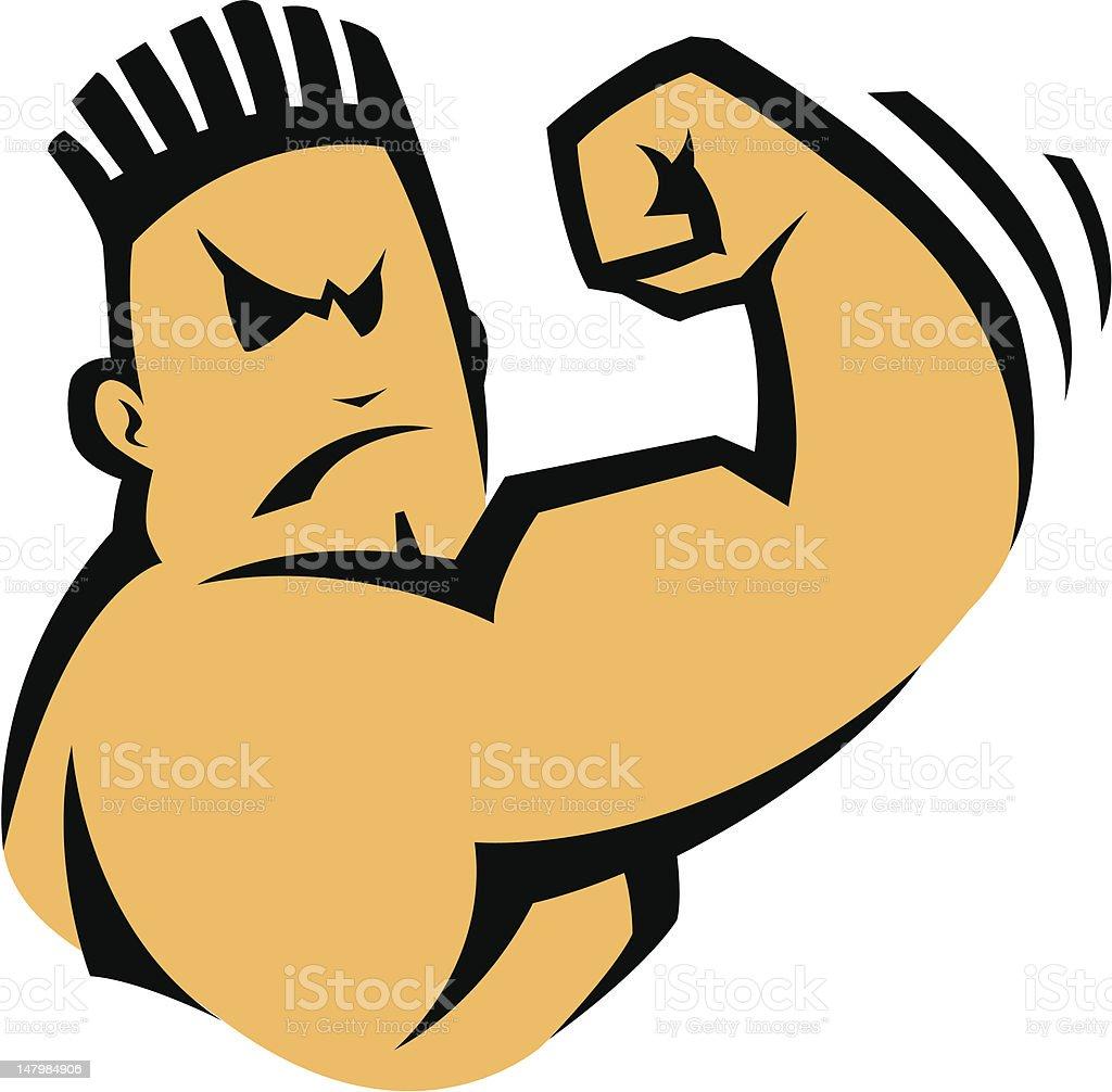 a cartoon image of a bad boy character stock vector art 147984906