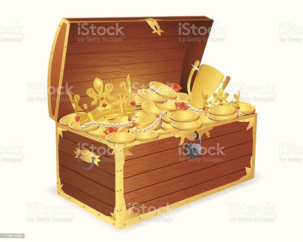 ... A cartoon image of a treasure chest vector art illustration ... & Clip Art Of A Treasure Box Clip Art Vector Images u0026 Illustrations ... Aboutintivar.Com
