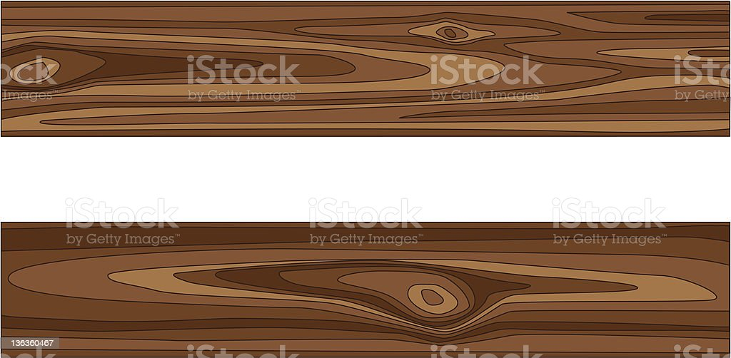 A cartoon image of a wooden structure royalty-free stock vector art