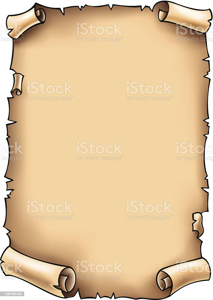 свиток старинный картинка