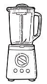 Cartoon image of blender