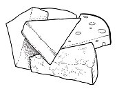 Cartoon image of cheese